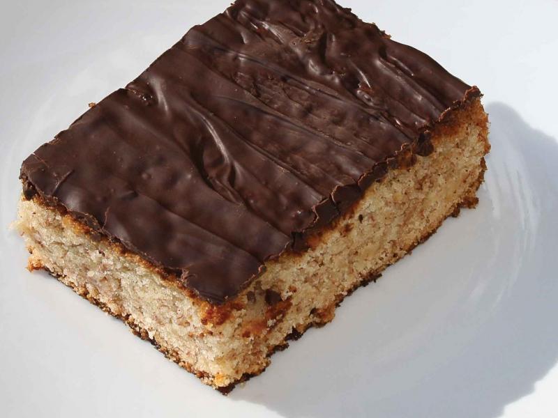 Banankage Med Chokolade Animadk
